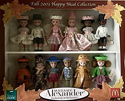 NEW 2003  Madame Alexander Doll FALL Collection Color CATALOG Book