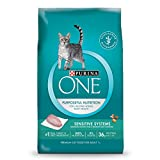 Purina ONE Sensitive Skin & Stomach Formula Adult Dry Cat Food - 16 lb. Bag