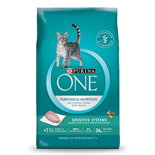 Purina ONE Sensitive Systems Adult Dry Cat Food - 16 lb. Bag (Min 4 Formula)
