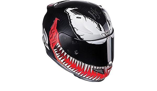 Amazon.es: HJC Rpha 11 cara completa para Moto Casco - Marvel Venom edición limitada
