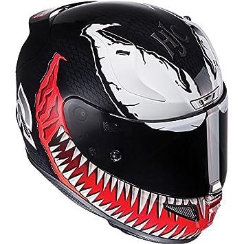 HJC Rpha 11 cara completa para Moto Casco – Marvel Venom edición limitada