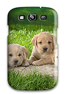 New Premium LZRRoBt5324Uynbd Case Cover For Galaxy S3/ Labrador Retriever Puppies Protective Case Cover