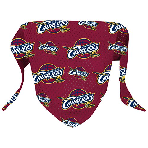 [Hunter NBA Cleveland Cavaliers Pattern Bandana for Pets,  Small/Medium] (Cleveland Costumes)