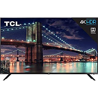 TCL 75R617 75-Inch 4K Ultra HD Roku Smart LED TV (2019 Model) (Renewed)