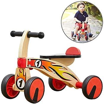 Amazon.com: Bicicleta de balanceo de madera Hape Scoot ...