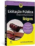 capa de Licitação Pública Para Leigos. Compra e Venda Governamental