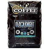 Black Knight Decaf Organic Fair Trade Coffee, Whole Bean, Water Decaf, Fresh Roasted Coffee LLC. (5 LB)