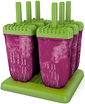 6-Pieces Mamasicles Popsicle Ice Pop Molds
