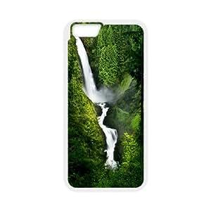 DIY Stylish Printing Nice waterfall Cover Custom Case For iPhone 6 4.7 Inch V66Q962971