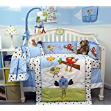 SoHo Chicken Little Party Baby Crib Nursery Bedding Set 14 pcs
