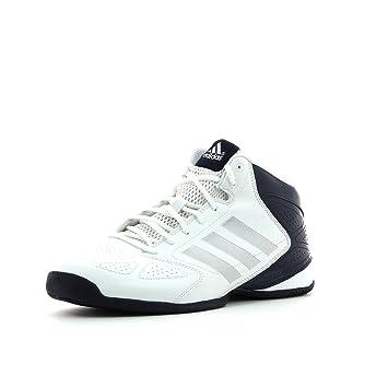 adidas Zapatillas de Baloncesto Para Hombre Blanco Blanco vPZZqkOwxH