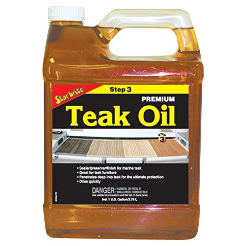 Star Brite Premium Golden Teak Oil Gallo 85100c (Brite Premium Golden Teak Star Oil)