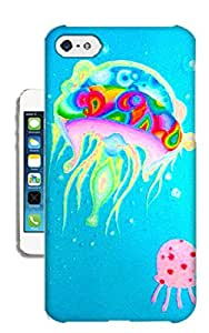Customizedphonecase Fantastic Jellyfish TPU Phone Case For iPhone5c