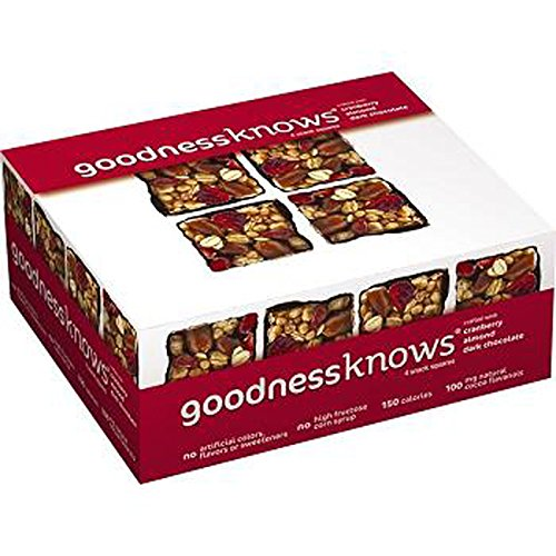 Goodnessknows Very Cranberry Bar, 12 Count (HEALTHY SNACKS)
