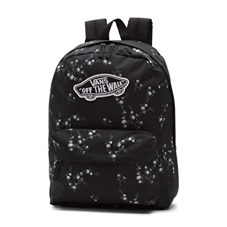 Mochila Vans Realm Backpack Dark Floral: Amazon.es: Equipaje