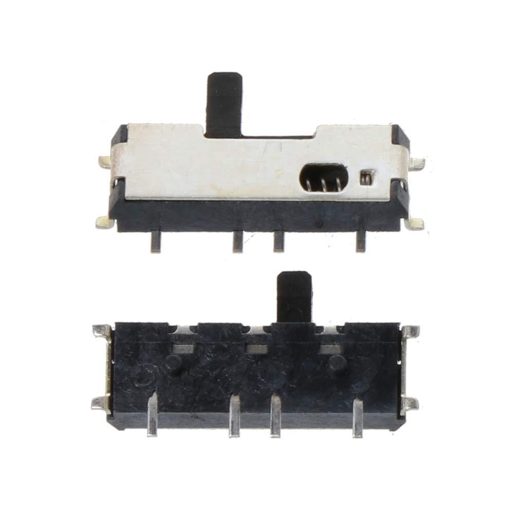 Yanhonin 2Pcs Bot/ón de Interruptor de Encendido de reemplazo Apagado Bot/ón del Micro Interruptor para DS Lite NDSL