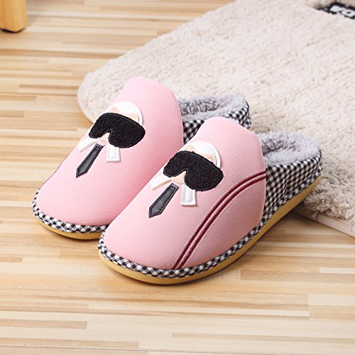 Cerf Maison À Les Guang De Moitié Rapides Pantoufles Nouvelles pink Xing Pink La Bande Avec Des Dessinée Coton A4ZqZWz6