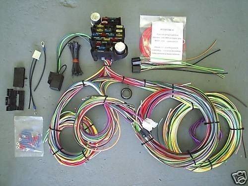 EZ Wiring -21 Standard Color Wiring Harness by EZ Wiring: