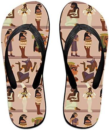 ビーチシューズ 古代エジプトの壁画 ビーチサンダル 島ぞうり 夏 サンダル ベランダ 痛くない 滑り止め カジュアル シンプル おしゃれ 柔らかい 軽量 人気 室内履き アウトドア 海 プール リゾート ユニセックス