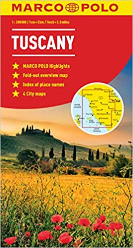 Tuscany Marco Polo Map Marco Polo Maps Amazoncouk Marco Polo - Map tuscany