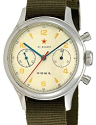 Seagull 1963 Hand Wind Mechanical Chronograph with Sapphire Crystal 6345G-2901