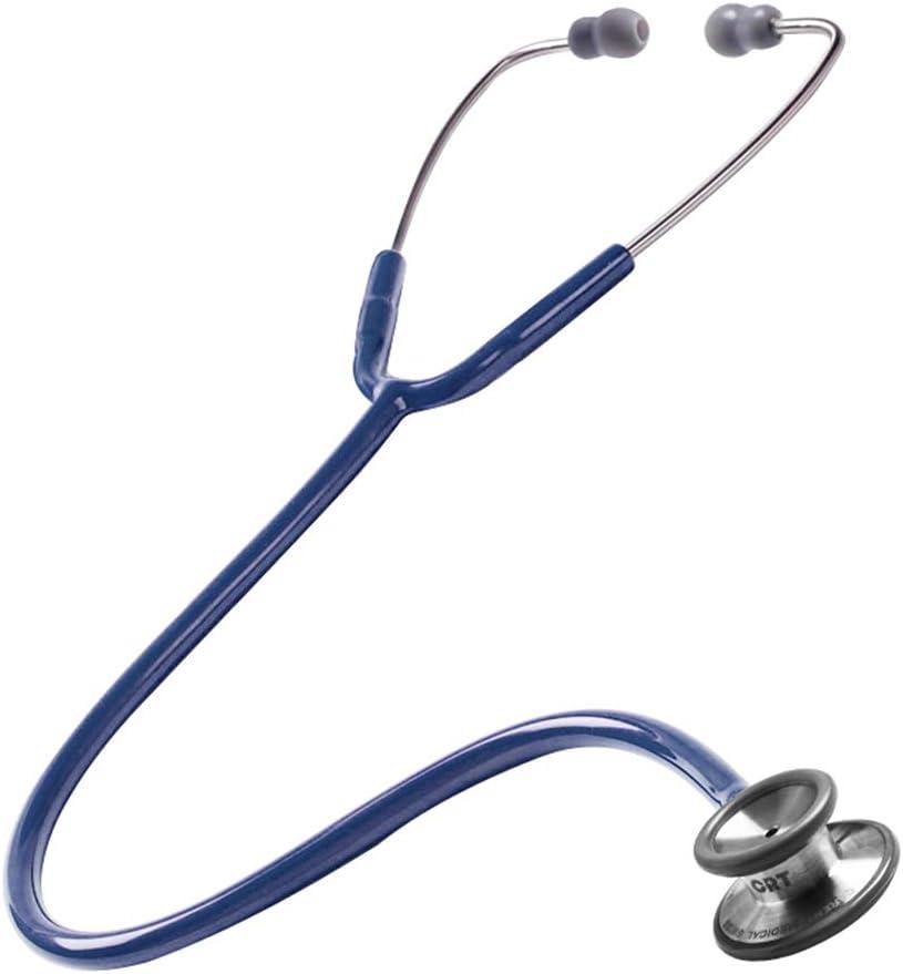 Sarazong Especialidad médica de Estetoscopio, Estetoscopio de Manguera de Silicona de Estetoscopio de frecuencia múltiple de Doble Cabeza, Regalo Ideal para Enfermera,14