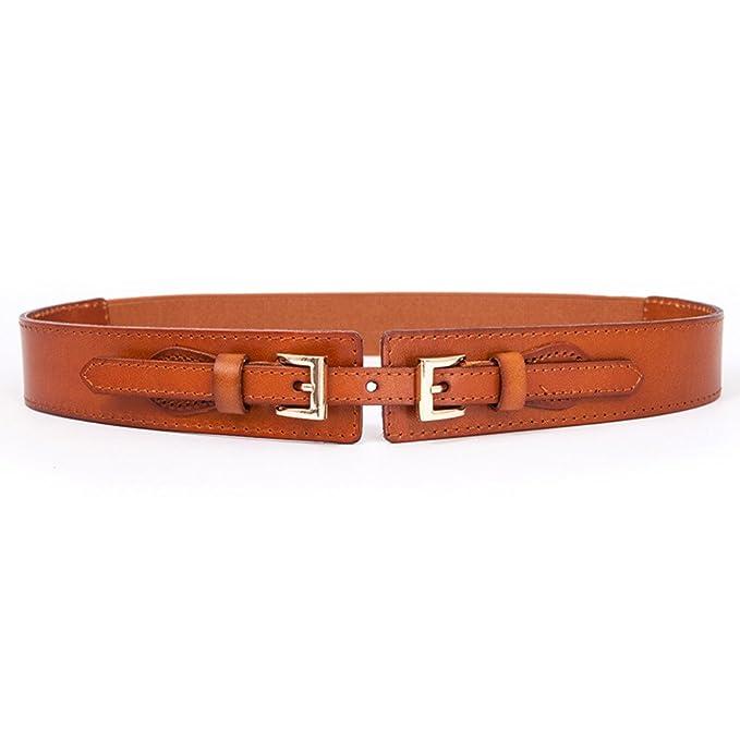 negozio del Regno Unito prezzo più basso con super qualità Le signore Doppia fibbia Distribuzione Vestito Cintura,Elegante ...