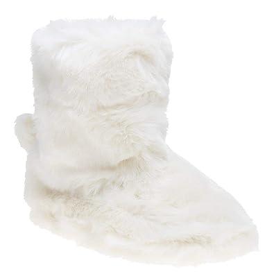 206bda33d Amazon.com: Ted Baker Women's Hamond Slip On Boot Slipper White: Shoes