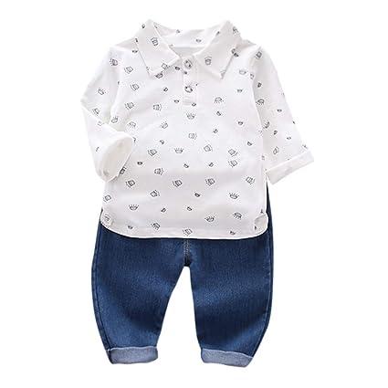 FBGood - Pantalón de chándal para niño de Manga Larga para niño en ...