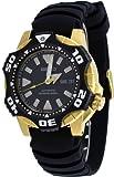 Seiko Men's SKZ286 Automatic Black Dial Black Rubber Diver Watch, Watch Central