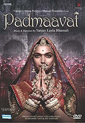 Padmaavat Hindi DVD - Deepeka Padukone, Ranveer Singh - Latest Bollywood Original Film with English Subtitles