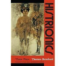 Amazon books histrionics three plays fandeluxe Gallery