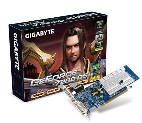 Gigabyte GV-NX72G512E2 - Tarjeta gráfica (GeForce 7200 GS ...