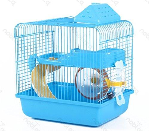 Forpet® - Jaula para hámsteres en forma de casa con tobogán y ...