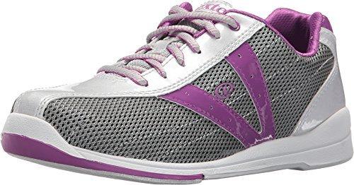 Dexter Bowling Women's Vicky Silver/Grey/Purple 8 B US