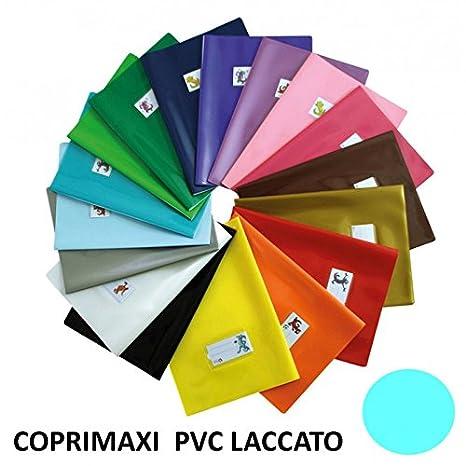 Copertina per quaderni maxi PVC Laccato BIANCO con segnalibro da 180 micron coprimaxi