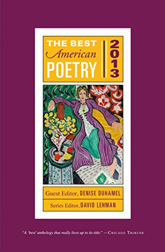 The Best American Poetry 2013 (The Best American Poetry series)
