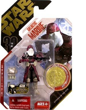 Star Wars 30th Anniversary - Revenge of the Sith - GALACTIC MARINE with Exclusive Collector GOLD Coin (#02) by Star Wars