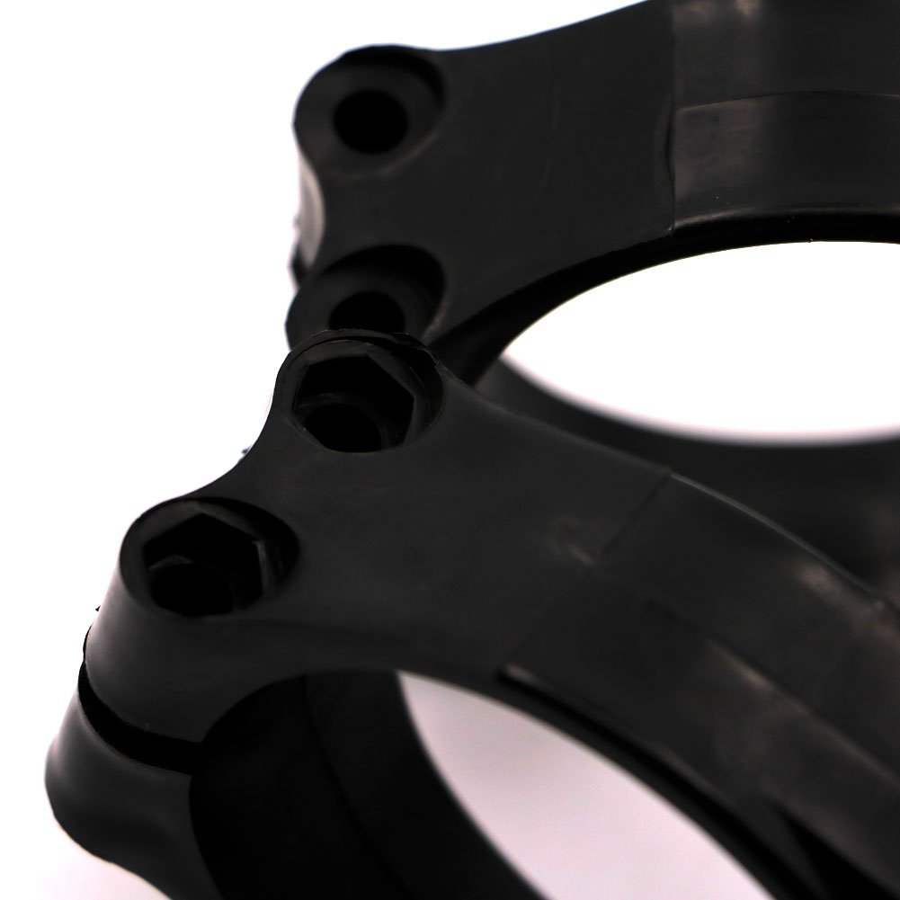 Alpha Rider Motorcycle Front Fork Guard Slider Protector Fender Black Plastic Clamp Clip by Alpha Rider (Image #2)