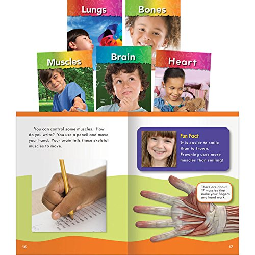 Teacher Created Materials - Classroom Library Collections: My Body - 5 Book Set - Grades K-2 - Guided Reading Level