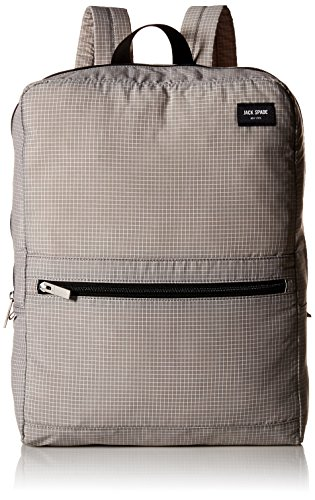- Jack Spade Men's Packable Graph Check Backpack, Grey