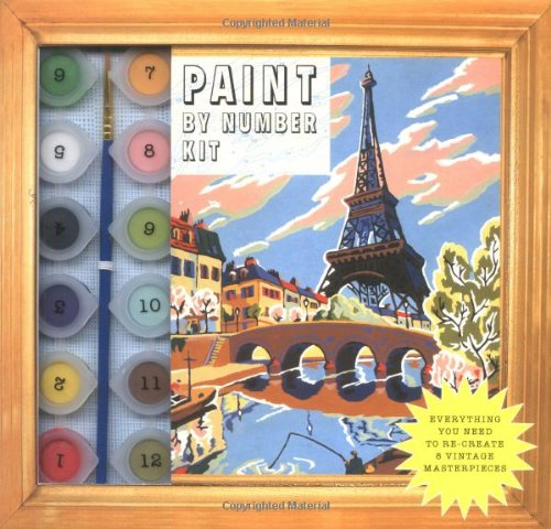 Read Online Paint By Number Kit: Everything You Need to Re-Create 8 Vintage Masterpieces pdf