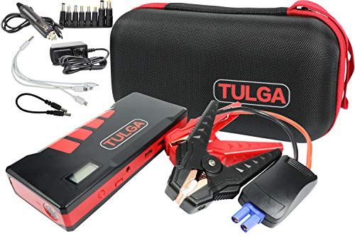 20000mah Portable Car Jump Starter 6lt Gas 4lt Diesel Battery Charger Automotive with Jumper Cables