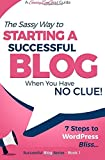 Starting a Successful Blog when you have NO CLUE! - 7 Steps to WordPress Bliss... (Beginner Internet Marketing Series) (Volume 1)
