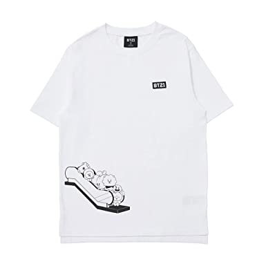 15bb509b799 BT21 Official Merchandise by Line Friends Characters Tshirt Unisex Graphic  Artwork Tees