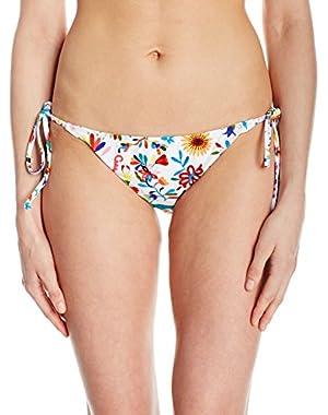 Women's Italian Folkloric String Bikini Bottom