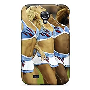 For ReYAYXq7129zqOTo Tennessee Titans Cheerleaders 2013 Protective Case Cover Skin/galaxy S4 Case Cover