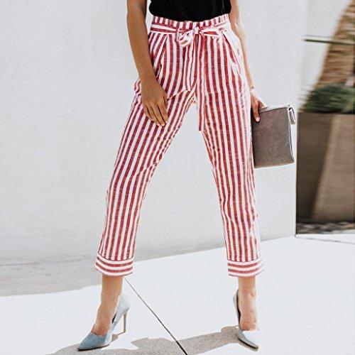 de de sexy alta Wide High Fashion Cowboy Pants BaZhaHei Casual de alta de vendaje Sexy Leg ancha moda Pantalones pierna Women Pantalón mujer cintura damas cintura de de Waist Denim Rosa vaquero pantalones 6RU61nO8q