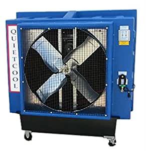 Quietaire qc36b1 36 inch belt drive portable for Evaporative cooler motor 3 4 hp