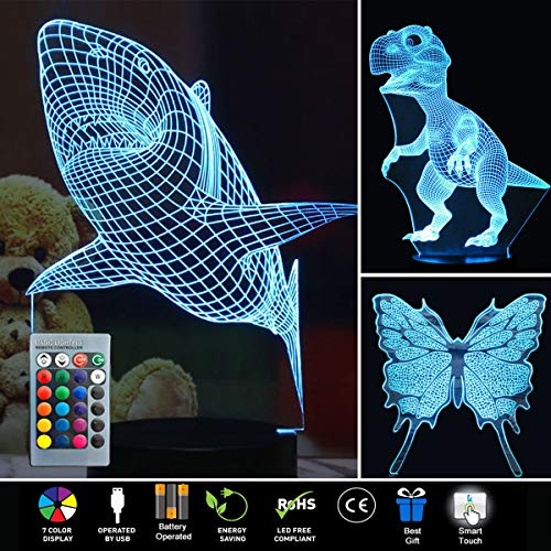 Led 3D Butterfly Night Lights in US - 3